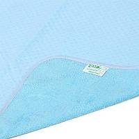Эко-пупс.  Двусторонняя многоразовая пеленка Эко-Пупс Classic (трикотаж), 65х90 см. (860071) Синий