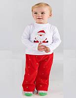 Новогодний комплект детский реглан и брюки