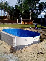 Строительство быстровозводимых бассейнов на базе сборных чешских бассейнов Ibiza Mountfield