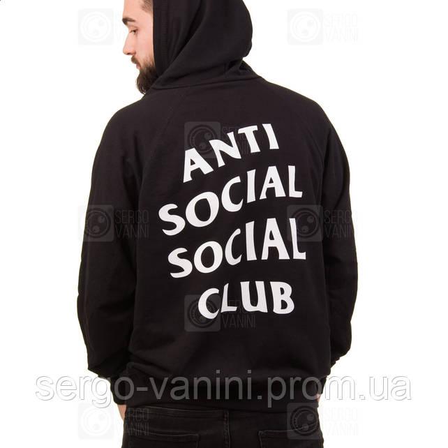 ASSC Толстовка • Живое фото • Бирки на худи Anti Social Social Club