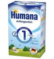 Humana (Хумана) 1 с пребиотиками (ГОС), 600 г (782502)