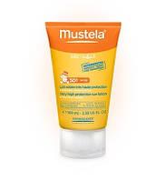 Mustela. Солнцезащитный лосьон для лица с очень высокой степенью защиты SPF 50, 100 мл. (024390)