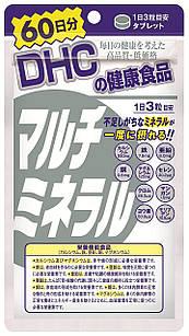 DHC Японские минералы мульти-минералы полный состав 180 табл