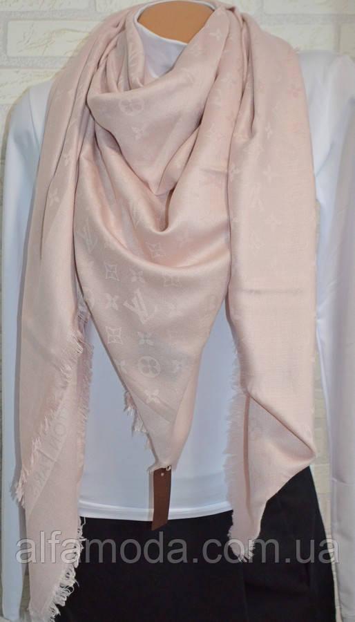 Платок шаль Louis Vuitton (Луи Витон) пудра, цена 320 грн., купить в ... 29540f14e5e