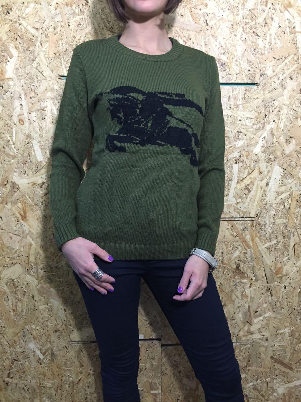 Свитер женский Турция зеленый