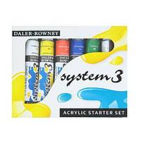 Набор акриловых красок, ''System-3 Starter Set'', 5 * 120мл, DR