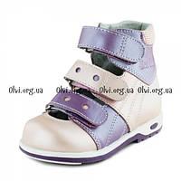 Ортопедическая обувь для девочек Туфли ортопедические 03-323