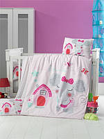 Детский комплект постельного белья, 100*150, ранфорс