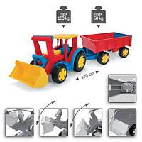 """Wader. Трактор """"Гигант"""" с ковшом и прицепом. (66300)"""