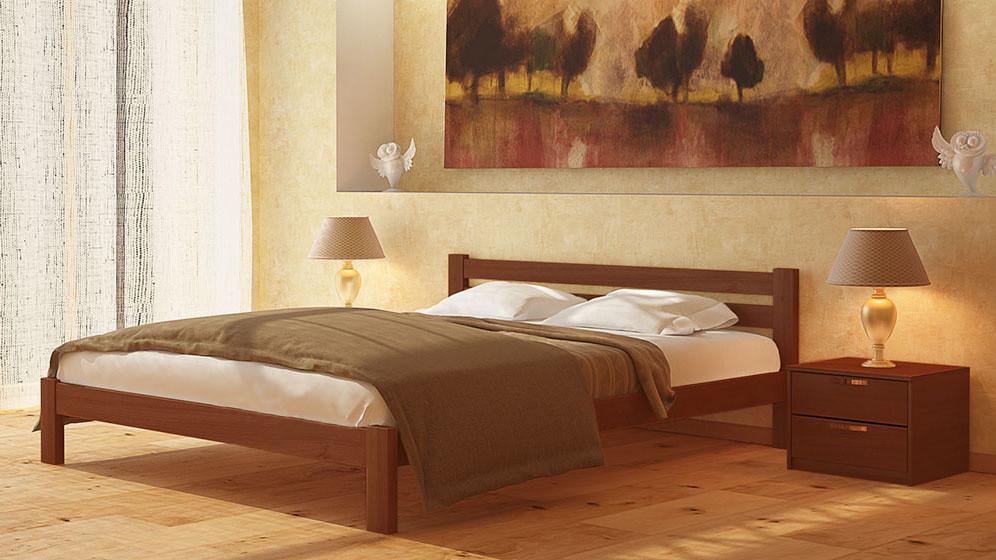 Деревянная кровать Эстелла 180*200