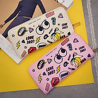 Женской кошелек в стиках