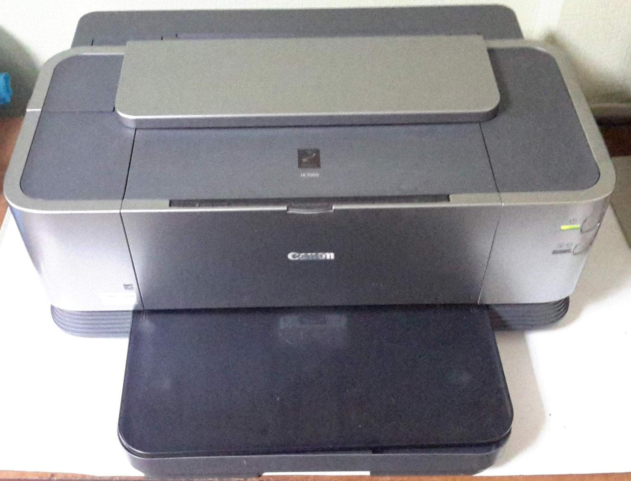 Принтер Canon PIXMA iX7000 неисправный