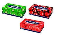 """Kleenex. Отрывные 2-х слойные салфетки в коробке """"Family"""" 150 шт (542805)"""