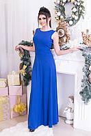 Новогоднее длинное платье