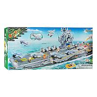 Конструктор BANBAO 8411военный корабль