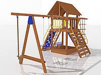"""MBM.Детский комплекс """"Праздник малыша"""", высота горки 1,5 м."""