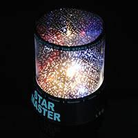 Проектор звездного неба Star master black + Адаптер 220В, фото 1