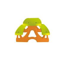 Детский столик со скамейками Mochtoys, фото 2