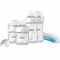 Avent. Набор бутылочек для кормления новорожденного Natural (0-6 мес) (612292)