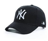 Зимняя шерстяная бейсболка NEW York , фото 1