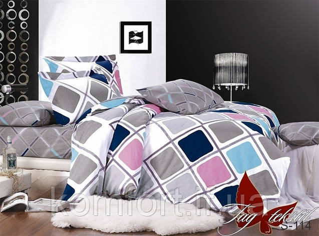 Комплект постельного белья с компаньоном S-114  S114, фото 2