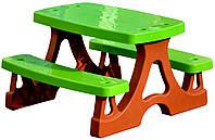 Детский столик со скамейками Mochtoys