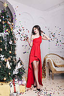 Вечернее ассиметричное платье 4 цвета