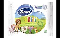 Zewa. Влажная туалетная бумага Kids moist, 42 шт (6551)