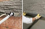 Штукатурка универсальная для пористых основ с перлитом ПЦШ-018 (серая), 25кг, фото 4