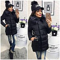 Куртка-пальто сезон-зима (наполнитель холофайбер) №01538
