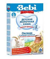 Bebi Premium. Каша овсяная с козьим молоком обогащенная пребиотиками, 200 г  (024464)