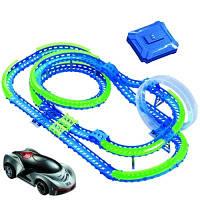 Wave Racers. Игровой набор Захватывающие горки (трек со спиралью, 1 сенсор, модель, зарядное устройство) (YW211033-3)