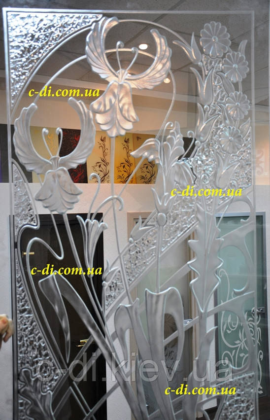 Рисунки по стеклу, гравировка по стеклу