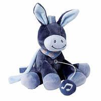 Nattou Мягкая игрушка с музыкой ослик Алекс 21см. 321075