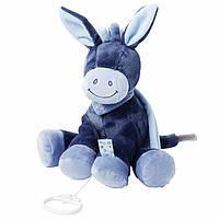 Nattou Мягкая игрушка с музыкой ослик Алекс 28см. 321051