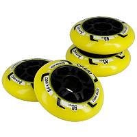OXELO Fit 80 mm 84A Wheels 4-Pack