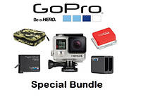 Экшн-камера Gopro HERO 4 Silver Special Bundle