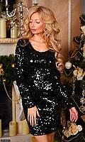 Платье 4374346-3 Осень-Зима   (мш)