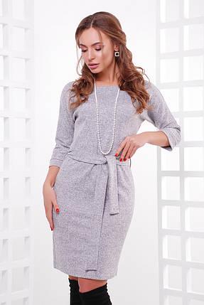 Модное платье из меланжевой ангоры, фото 2