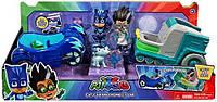 Игровой набор герои в масках Кэтбой и Ромео на машинах PJ Masks Cat-Car and Romeo' s Lab 2 Pack Vehicle Set