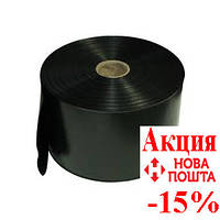 Рукав полиэтиленовый ширина-120мм длина-500 м черный