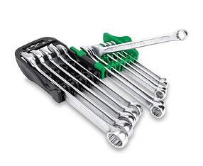 Набір ключів комбінованих 8-19мм 10 од. на холдере Toptul GSAB1001