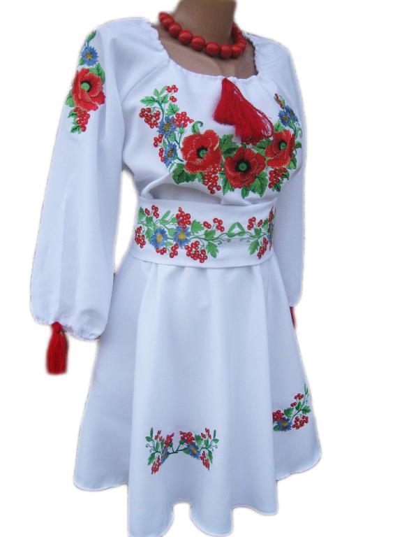 """Женское вышитое платье """"Кейвон"""" KD-0001"""