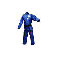 Кимоно для джиу-джитсу ADIDAS JJ500 Rio Cut (Синее)