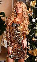 Платье 4374346-1 Осень-Зима   (мш)