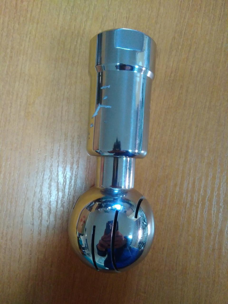 Разбрызгиватель-форсунка для автоматической промывки охладителя молока