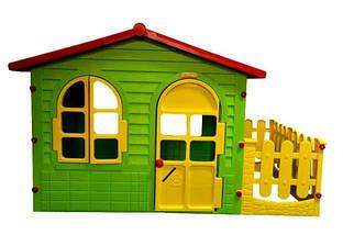 Детская площадка домик и горка Mochtoys, фото 3