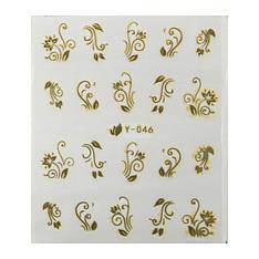 Katti Наклейки водные Y 46 (золото)