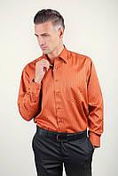 Рубашка классическая терракотовая Fra (Терракотовый) 878-75