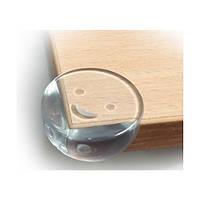 Baby Team. Силиконовые накладки на углы стола (круглые), 4шт. (7603)